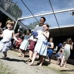 Kemper / Jardins de l'évêché : défile mode enfants GRAINE DE CAILLOU