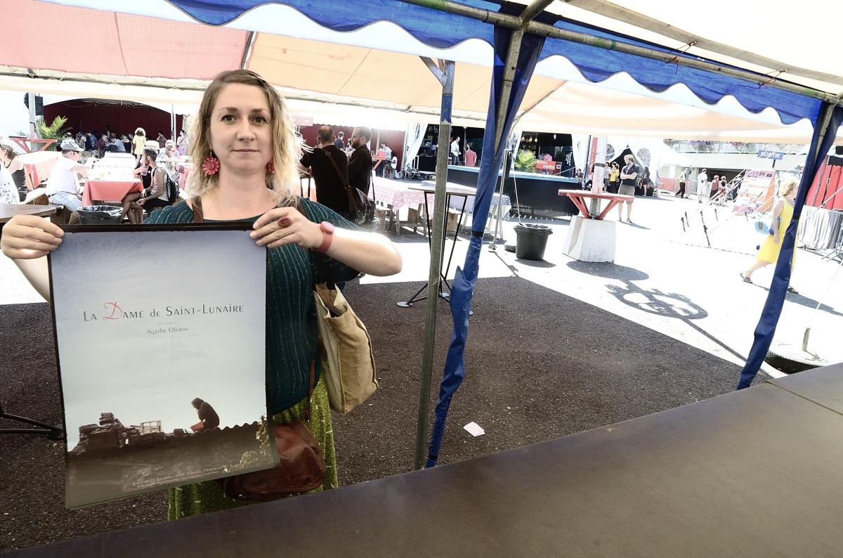 Agahe Oléron, réalisatrice du documentaire sur Jeanne Devidal, personnage atypique, ancienne résistante...