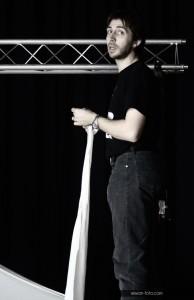 Jérôme Mao, sonorisateur éclairagiste