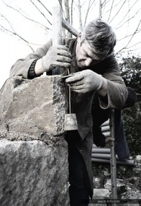 Philippe Cornic, l'homme de la pierre