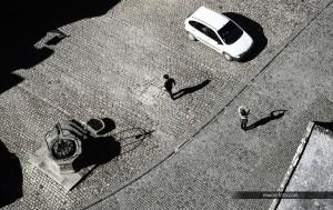 Shadows of Locronan