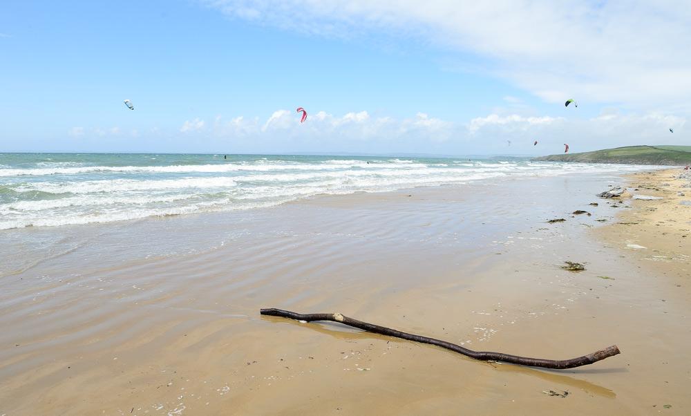 Benoit, Kite Surfer, Kervel