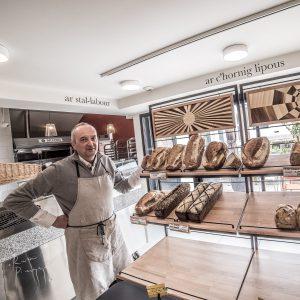 Philippe Gueguen, Boulanger passionné
